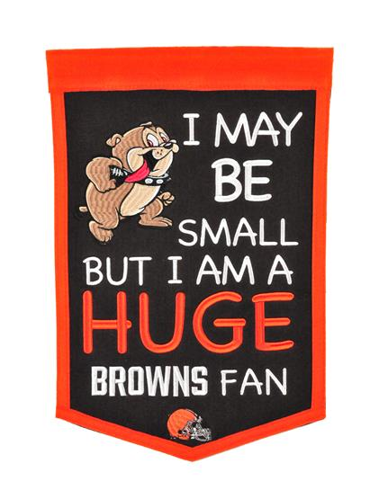 Cleveland Browns Lil Fan Traditions Banner - Dynasty Sports & Framing