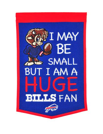 Buffalo Bills Lil Fan Traditions Banner - Dynasty Sports & Framing