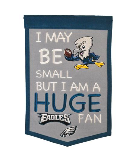 Philadelphia Eagles Lil Fan Traditions Banner - Dynasty Sports & Framing