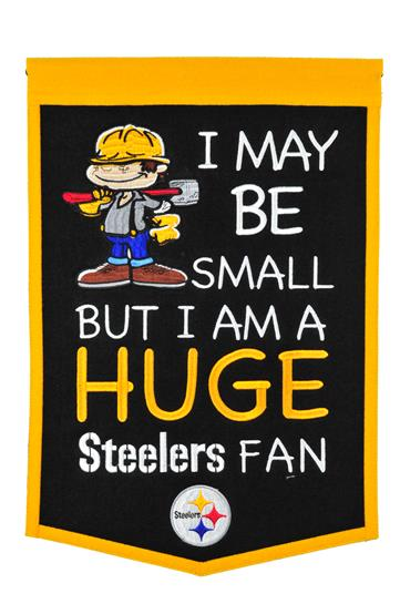 Pittsburgh Steelers Lil Fan Traditions Banner - Dynasty Sports & Framing