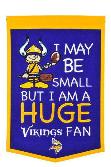 Minnesota Vikings Lil Fan Traditions Banner - Dynasty Sports & Framing