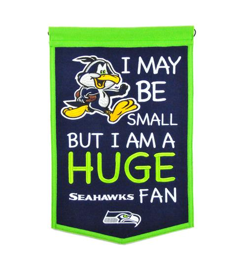 Seattle Seahawks Lil Fan Traditions Banner - Dynasty Sports & Framing