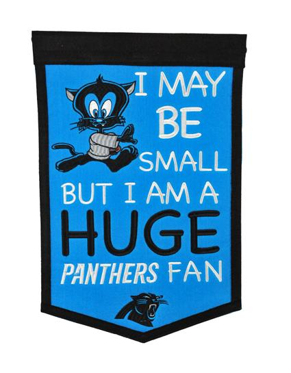 Carolina Panthers Lil Fan Traditions Banner