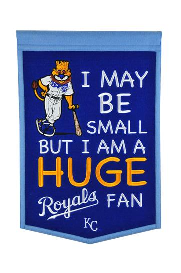 Kansas City Royals Lil Fan Traditions Banner - Dynasty Sports & Framing