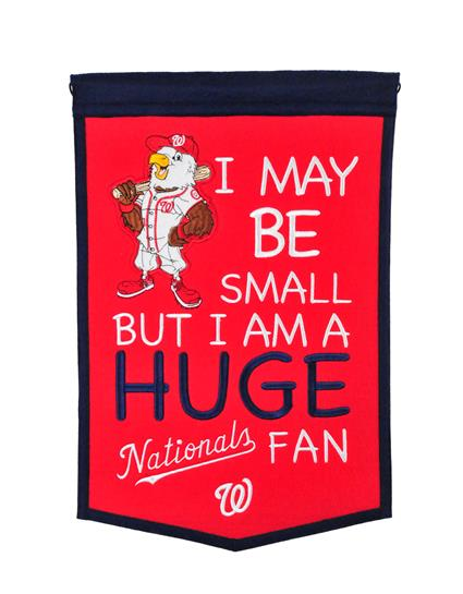 Washington Nationals Lil Fan Traditions Banner - Dynasty Sports & Framing