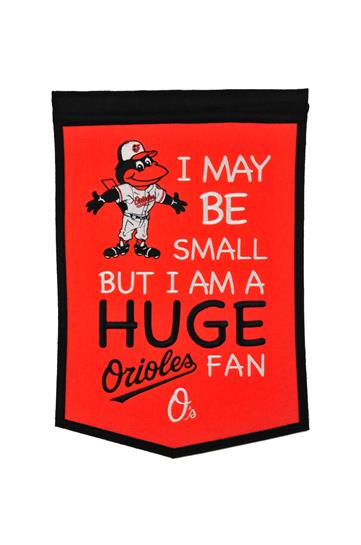 Baltimore Orioles Lil Fan Traditions Banner