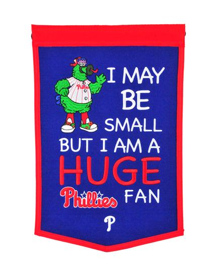 Philadelphia Phillies Lil Fan Traditions Banner - Dynasty Sports & Framing