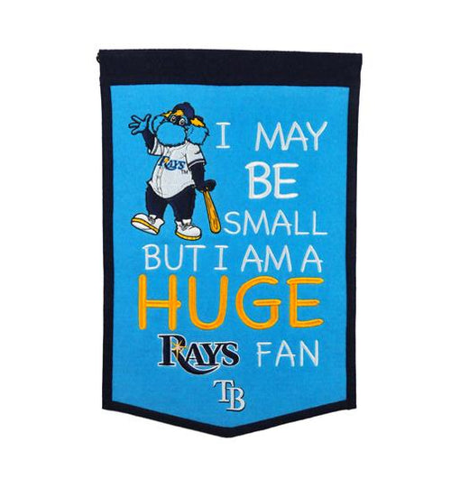 Tampa Bay Rays Lil Fan Traditions Banner - Dynasty Sports & Framing