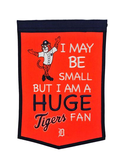 Detroit Tigers Lil Fan Traditions Banner