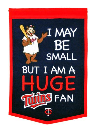 Minnesota Twins Lil Fan Traditions Banner - Dynasty Sports & Framing
