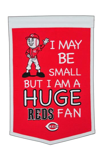 Cincinnati Reds Lil Fan Traditions Banner
