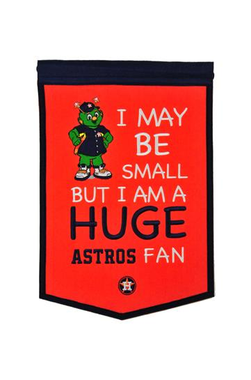 Houston Astros Lil Fan Traditions Banner