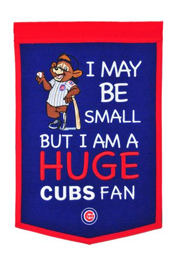 Chicago Cubs Lil Fan Traditions Banner - Dynasty Sports & Framing