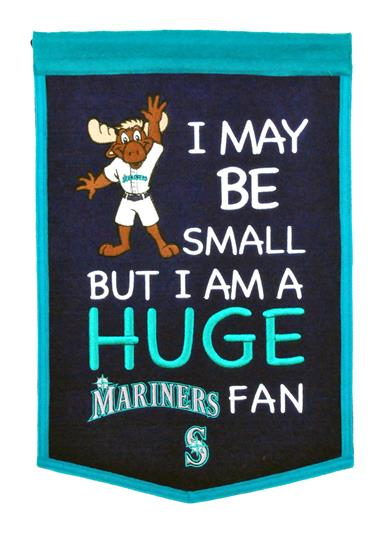 Seattle Mariners Lil Fan Traditions Banner - Dynasty Sports & Framing
