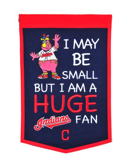 Cleveland Indians Lil Fan Traditions Banner - Dynasty Sports & Framing