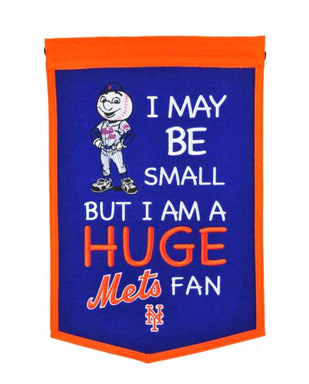 New York Mets Lil Fan Traditions Banner - Dynasty Sports & Framing