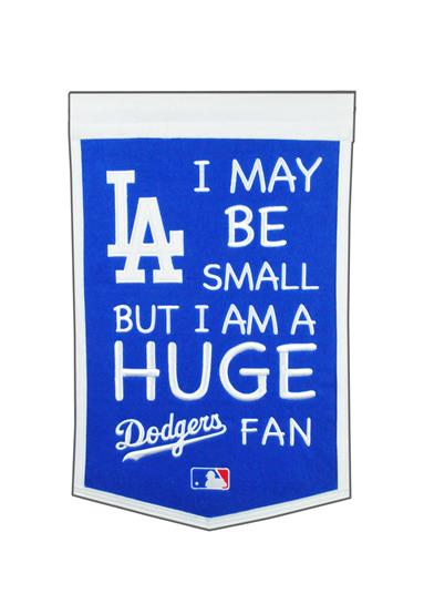 Los Angeles Dodgers Lil Fan Traditions Banner - Dynasty Sports & Framing