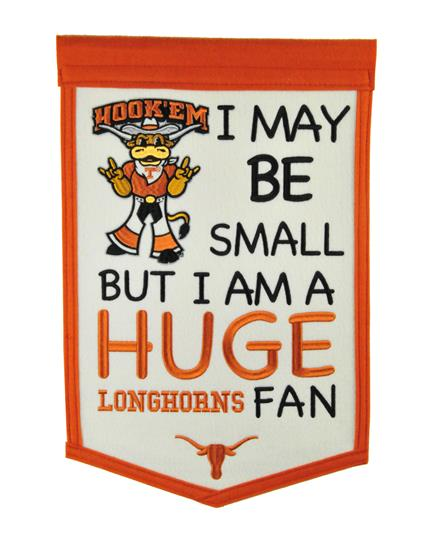Texas Longhorns Lil Fan Traditions Banner - Dynasty Sports & Framing