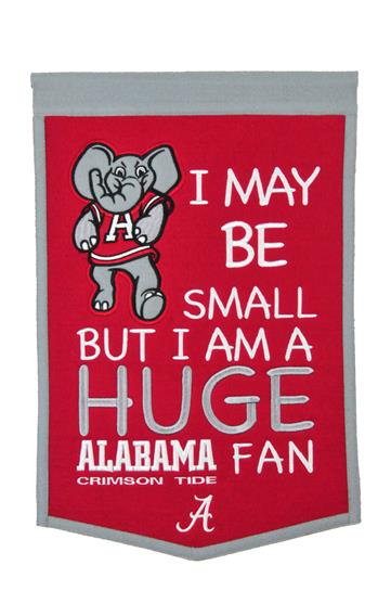 Alabama Crimson Tide Lil Fan Traditions Banner