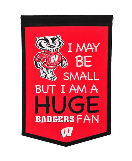 Wisconsin Badgers Lil Fan Traditions Banner - Dynasty Sports & Framing