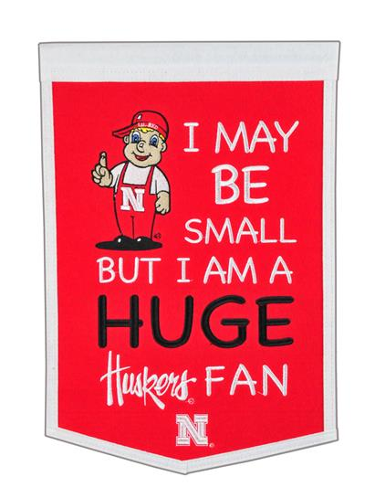 Nebraska Cornhuskers Lil Fan Traditions Banner - Dynasty Sports & Framing