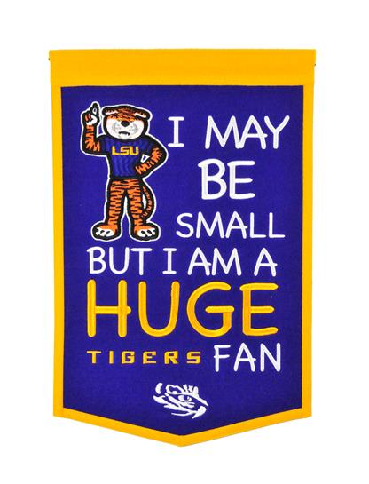 Louisiana State Tigers Lil Fan Traditions Banner - Dynasty Sports & Framing