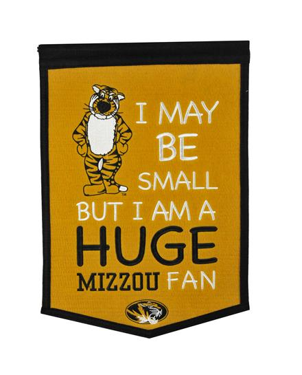 Missouri Tigers Lil Fan Traditions Banner - Dynasty Sports & Framing