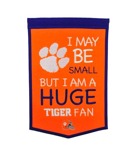 Clemson Tigers Lil Fan Traditions Banner
