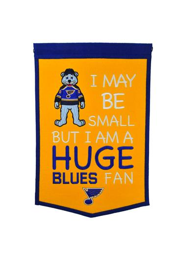 St. Louis Blues Lil Fan Traditions Banner - Dynasty Sports & Framing