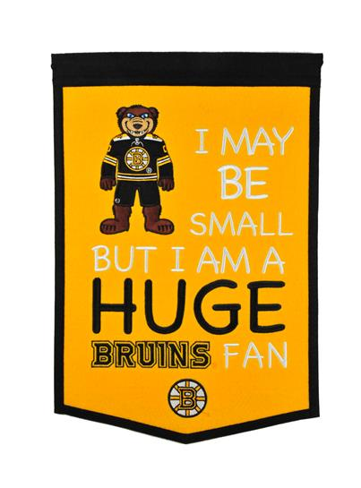 Boston Bruins Lil Fan Traditions Banner - Dynasty Sports & Framing