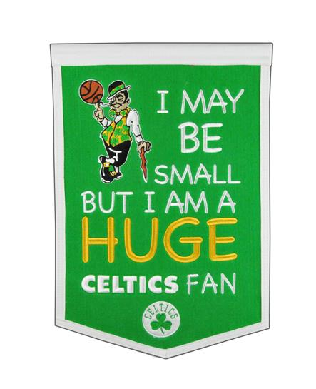 Boston Celtics Lil Fan Traditions Banner