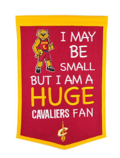 Cleveland Cavaliers Lil Fan Traditions Banner - Dynasty Sports & Framing