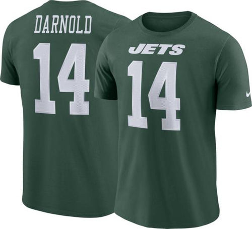 Sam Darnold New York Jets Nike Name & Number T-Shirt - Dynasty Sports & Framing