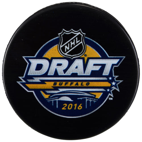 NHL Hockey 2016 Draft Puck