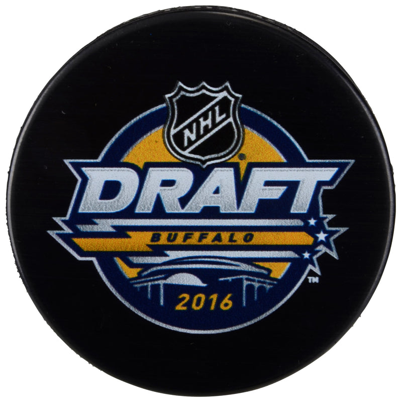 NHL Hockey 2016 Draft Puck - Dynasty Sports & Framing