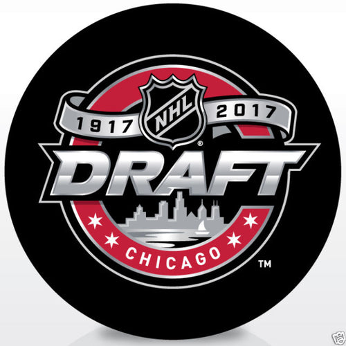 NHL Hockey 2017 Draft Puck