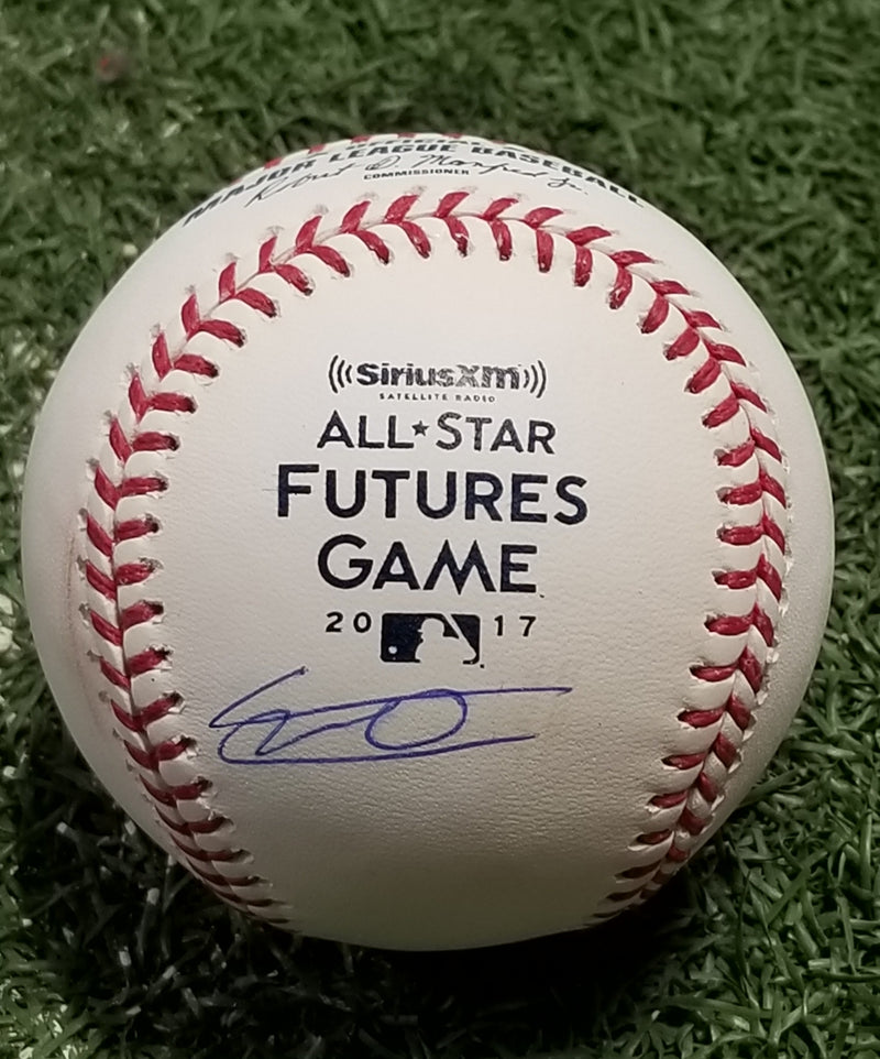 Vladimir Guerrero, Jr. Toronto Blue Jays Autographed 2017 All-Star Futures Major League Baseball - Dynasty Sports & Framing