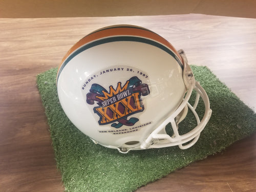 Super Bowl XXXI Authentic Official Riddell Helmet (Packers v. Patriots)