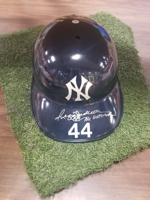 Reggie Jackson New York Yankees Autographed Official Major League Baseball Helmet