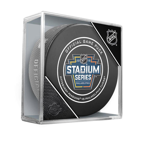 Philadelphia Flyers 2019 Stadium Series Official Game Puck - Dynasty Sports & Framing
