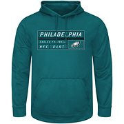 Philadelphia Eagles Starting Success Dri-Fit Hoodie- Green - Dynasty Sports & Framing