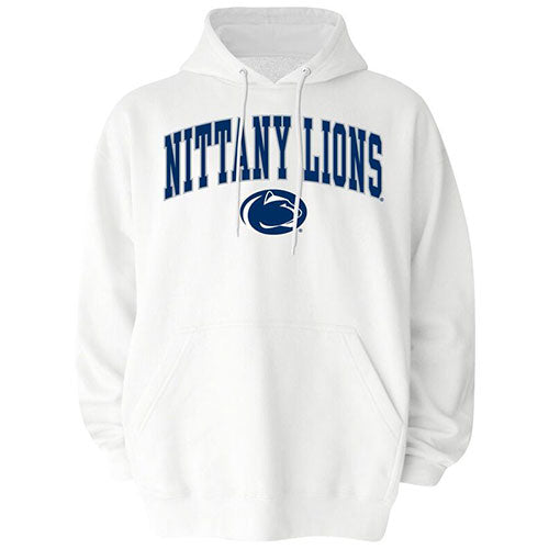 Penn State Nittany Lions NCAA College Mascot White Out Hoodie - Dynasty Sports & Framing