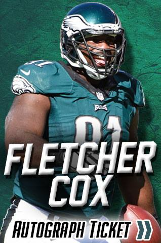 Fletcher Cox Philadelphia Eagles Experience Tickets