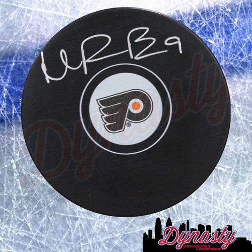 Ivan Provorov Philadelphia Flyers Autographed NHL Hockey Logo Puck - Dynasty Sports & Framing