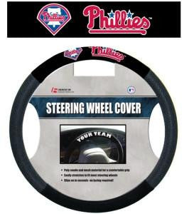 Philadelphia Phillies Steering Wheel Cover - Dynasty Sports & Framing