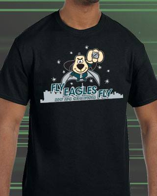 Philadelphia Eagles Underdogs NFC Champions Super Bowl Shirt (Youth)