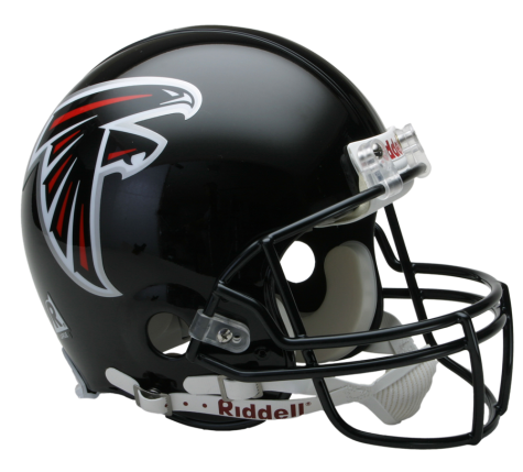 Atlanta Falcons Authentic NFL Full-Size Helmet - Dynasty Sports & Framing