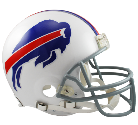 Buffalo Bills Authentic NFL Full-Size Helmet - Dynasty Sports & Framing