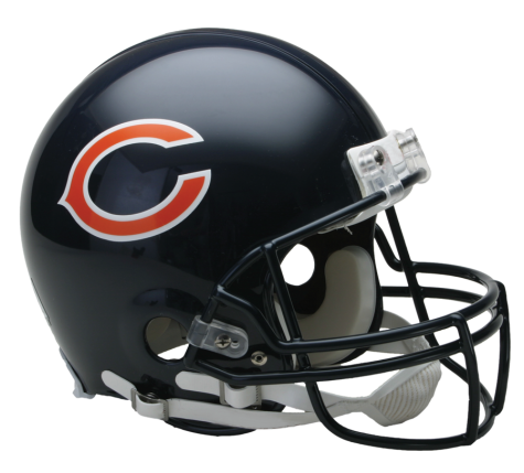 Chicago Bears Authentic NFL Full-Size Helmet - Dynasty Sports & Framing