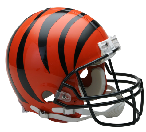 Cincinnati Bengals Authentic NFL Full-Size Helmet - Dynasty Sports & Framing